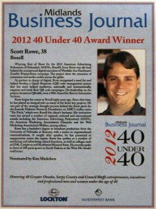 Scott Rowe 2012 40 under 40
